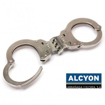 Испански белезници - Alcyon 5020 Твърда връзка - Хром