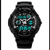Спортен мъжки часовник със силиконова каишка
