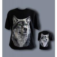 Тениска с вълк