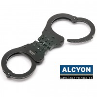 Испански белезници - Alcyon 5005b Тройна връзка - Черни