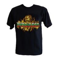 Тениска България с огън
