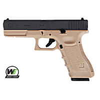 Еърсофт пистолет Airsoft Glock 17 Gen 3 TAN Metal Version GBB