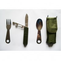 Джобен нож с прибори за хранене