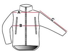 размери якета