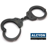 Испански белезници - Alcyon 5031 Карданова връзка - Черни