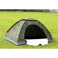 Камуфлажна, еднослойна, водоустойчива палатка 2+1